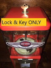 New Lock & Key Set Used in Northwestern Gumball Candy Bulk Vending Machines