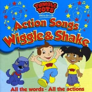 Tumble Tots Wiggle & Shake Sing Along Action CD *NEW & SEALED FAST UK DISPATCH*