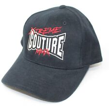 Xtreme Couture MMA Black Baseball Cap Hat Adjustable NEW