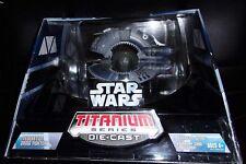 2005  STAR WARS. TITANIUM SERIES DIE CAST. FEDERATION DROID FIGHTER.