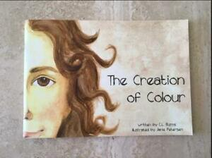 The Creation of Colour - Children's Book written by C. Burns