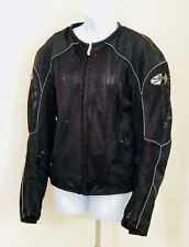 Joe Rocket Ballistic Black Mesh Motorcycle Jacket - Unisex Size Small