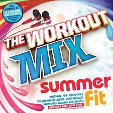 Workout Mix Summer Mix 2 60 Min Non Stop Mixes Push It & Burn it Mix!