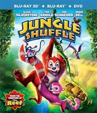 JUNGLE SHUFFLE New Sealed Blu-ray 3D + Blu-ray + DVD