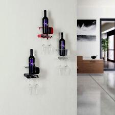 Hecht Weinregal S-Form Metall Flaschenregal Flaschenständer Flaschenhalter