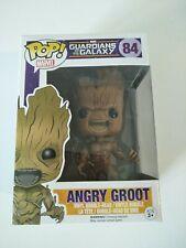 Funko pop vinyl figure BNIB #84 Angry Groot Guardians of the Galaxy Marvel