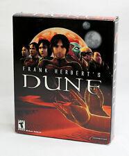 Dreamcatcher Frank Herbert's DUNE - Windows 98 CD 2001 - Big Box PC Game