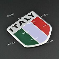 Car/Truck Decor Sticker Decal Italy Italian Shield Flag 3D Emblem Badge Logo