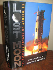 Lost Moon Jim Lovell Apollo 13 Signed 1st Edition Later Printing Space Memoir