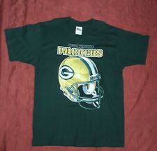 VINTAGE T-SHIRT PRO PLAYER PACKERS GREEN BAY CENTRAL DIVISION L MADE IN U.S.A.