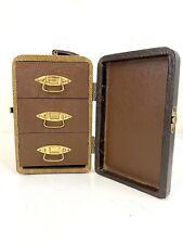 Vintage Barnett & Jaffe Baja 3 Drawer Slide Storage Carrying Case (1949-50s)