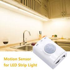 DC 5V LED Strip Light Infrared PIR Motion Sensor Switch USB Rechargeable Timer