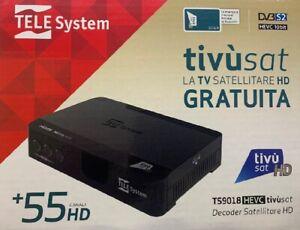 Decoder Tv Sat HD Card Tv Sat Tvsat con tessera satellitare scheda ricevitore
