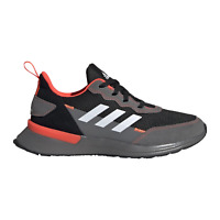 adidas Rapidarun Elite Cloudfoam Junior Footwear Trainers - Grey / Black / Red