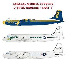 Caracal 1/72 Douglas C-54/R5D Skymaster - Part 1 # 72035