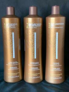 Original Brasil Cacau Keratin Treatment Step 1-2-3 1000ml / 33.8oz