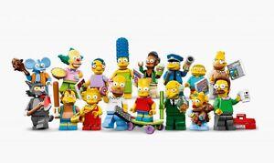 LEGO 71005 - LEGO MINIFIGURES - SERIE SIMPSON'S 1° SERIE - scegli il personaggio