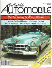 Collectible Automobile Magazine November 1985 Vol 2 - No 4