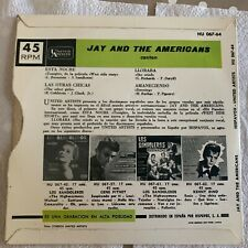 """JAY AND THE AMERICANS - CANTAN / Tonight - 7"""" - HU 067-64 - west side story -ep"""