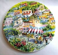 Valori Home Plate Positano Made in Italy 10 inches