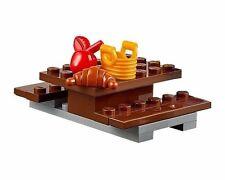 LEGO PICNIC TABLE Basket Apple Croissant Minifigure Food Accessories