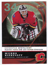 08-09 McDonalds Miikka Kiprusoff Superstar Spotlight Insert #IS5 Mint Canada