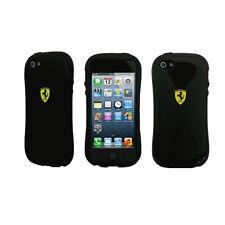 Ferrari Genuine Licensed iPhone 5 Cell Phone Case - Black Hardcase With Bumper