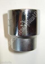 "SINGLE SOCKET LISTING - 25mm - CH VAN 1/2"" Sq Dr - 40mm Long - Bi-HEX 25 mm *S2*"