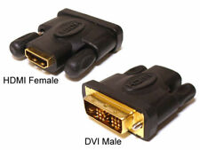 DVI D Male to HDMI Female Converter Connector Adapter