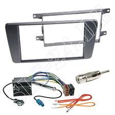 Autoradio Doppel-DIN Radioblende Adapterkabel Einbauset Skoda Octavia II 1Z ab04
