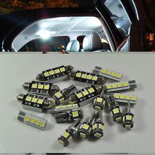 18x White LED Interior lighting kit For BMW 5 Series E39 525i 528i 530i 540i M5
