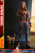 1/6 Scale Captain Marvel Deluxe Movie Masterpiece Hot Toys 904311