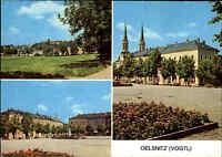 Oelsnitz Vogtland DDR Mehrbild-AK gelaufen Postkarte Ansichtskarte gebraucht