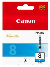 Canon CLI8C Cyan Suits Ip4200 / Mp520 Inkjet Printer
