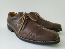 Sandro Moscoloni Men's US 11 Tan Leather Lace Oxfords Shoes Anatomic Gel