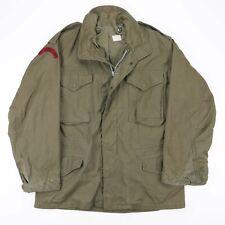 Vintage US ARMY Green Sateen OG-107 Field Jacket Size Men's Medium
