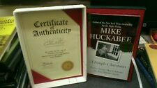 A Simple Christmas by Mike Huckabee SIGNED LIMITED Edition! Fox News! 9534/15000
