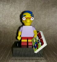 Genuine LEGO The Simpsons Minifigure Series Milhouse Van Houten Minifig 71005