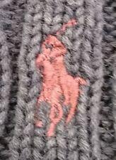 Polo By Ralph Lauren 100% Cotton Blue Cable Knit Men's Cardigan Size Large