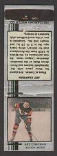 1933-34  DIAMOND MATCHBOOKS SILVER  ART CHAPMAN   INV A2908