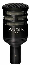 Audix D6 Dynamic Kick Drum and Bass Cab Cardioid Microphone
