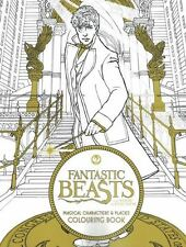 Fantastic Beasts & Where To Find Them Magical Characters & Places Colouring Book