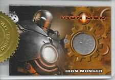 Iron Man Movie - Iron Monger Costume / Relic Card - 2 Case Dealer Incentive