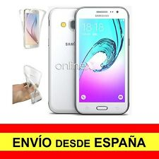 Funda doble transparente para Samsung Galaxy J3 (2016) antichoque total A2567