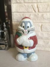 Warner Bros Loony Tunes Bugs Bunny Christmas Xmas Candle Large Rare 1995 Unused