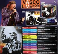 Vasco Rossi Live Kom Collection - cofanetto slipcase (10 Dvd + 4 CD) Nuovo