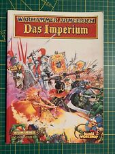Warhammer Fantasy Armies Armeebuch Das Imperium Empire Deutsch Rare Used OOP #1