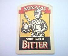 Vintage ADNAMS - SOUTHWOLD BITTER Cat No'16  Beermat / Coaster
