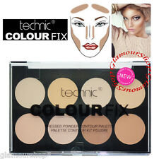 Technic Colour Fix Pressed Powder Face Contour Palette Bronzer Highlighter