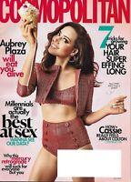 Cosmopolitan Magazine Aubrey Plaza Fashion Relationships Hair Tips Makeup 2019